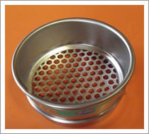 Round Hole Perforated Plate Sieve