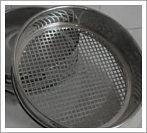 Perforated Square Hole Plate Sieve